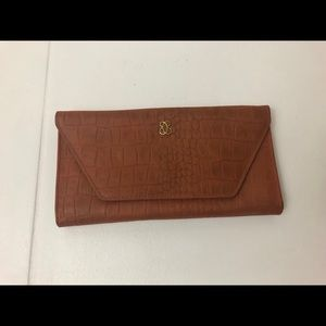 Vintage Lady Buxton Camel Brown Leather Wallet